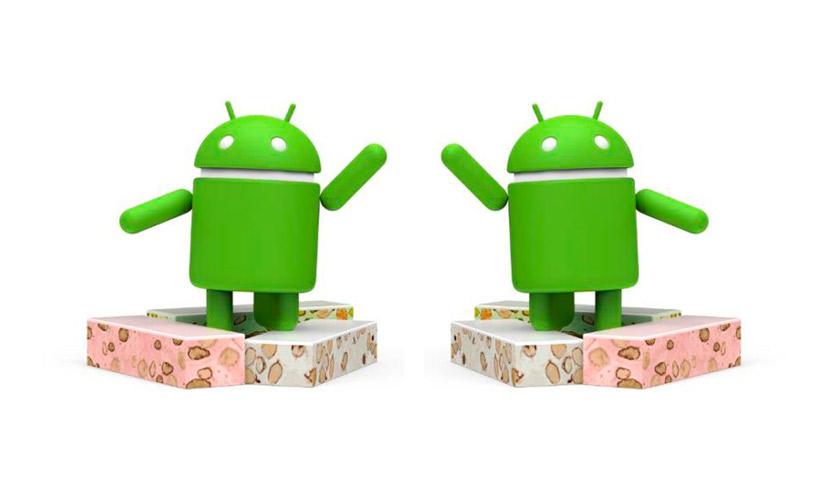 Nueva versión de Android: Nougat (turrón).