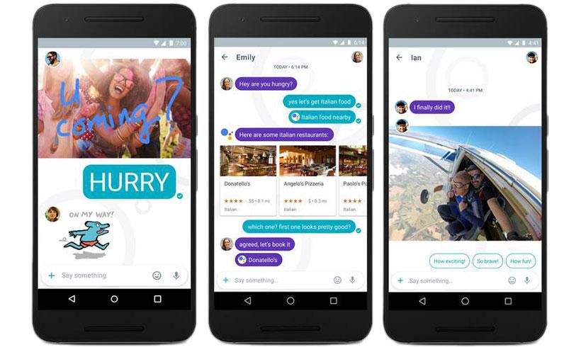 Google presenta Allo, su app de mensajería instantánea