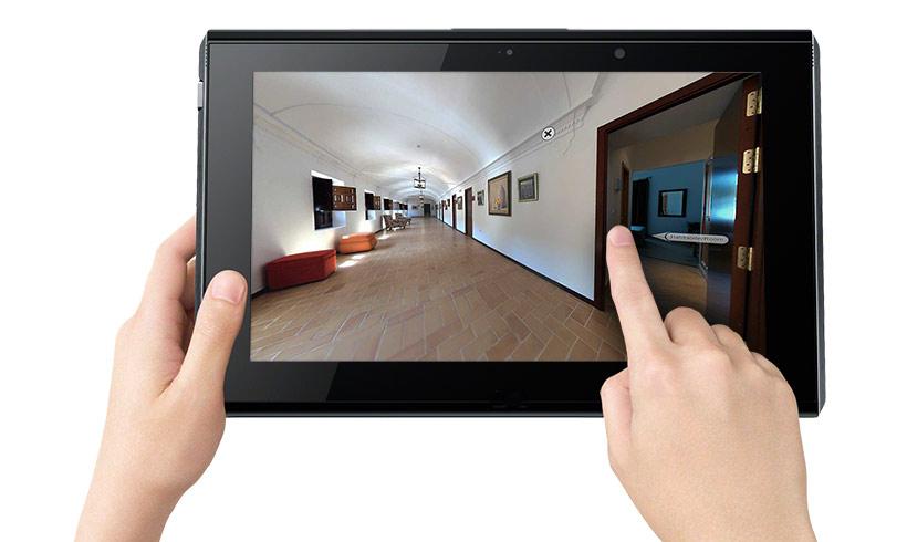 Visita virtual hospedería